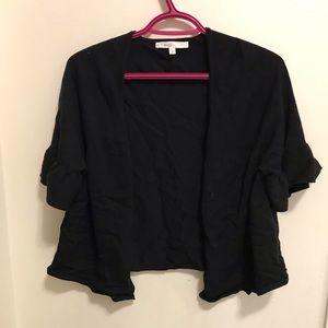 Cleo Black 3/4 Sleeve Cardigan